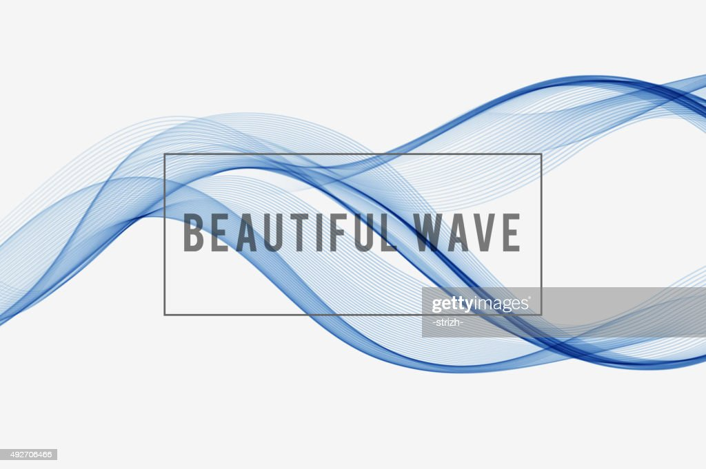 Beautiful wave  Background