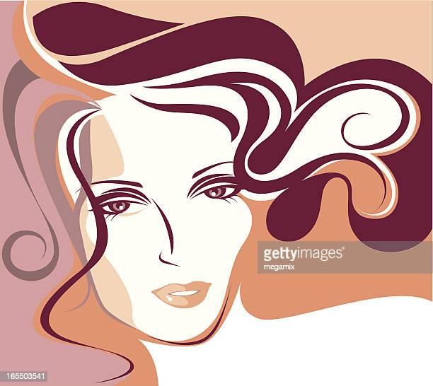 ilustrações de stock, clip art, desenhos animados e ícones de mulher bonita. - mulher fatal