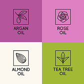 Beauty and cosmetics oils