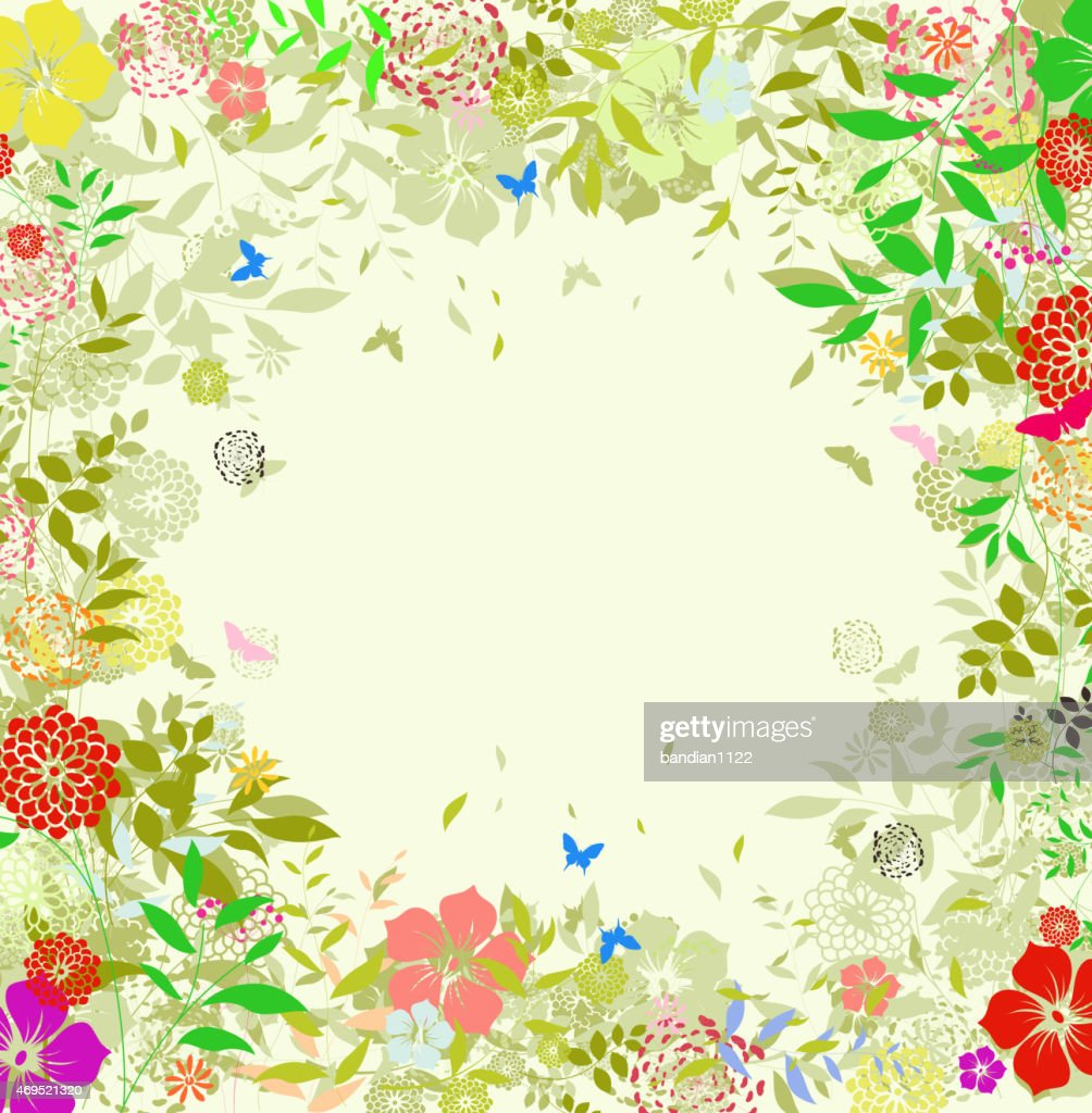 Beauty Flower spring background for you design