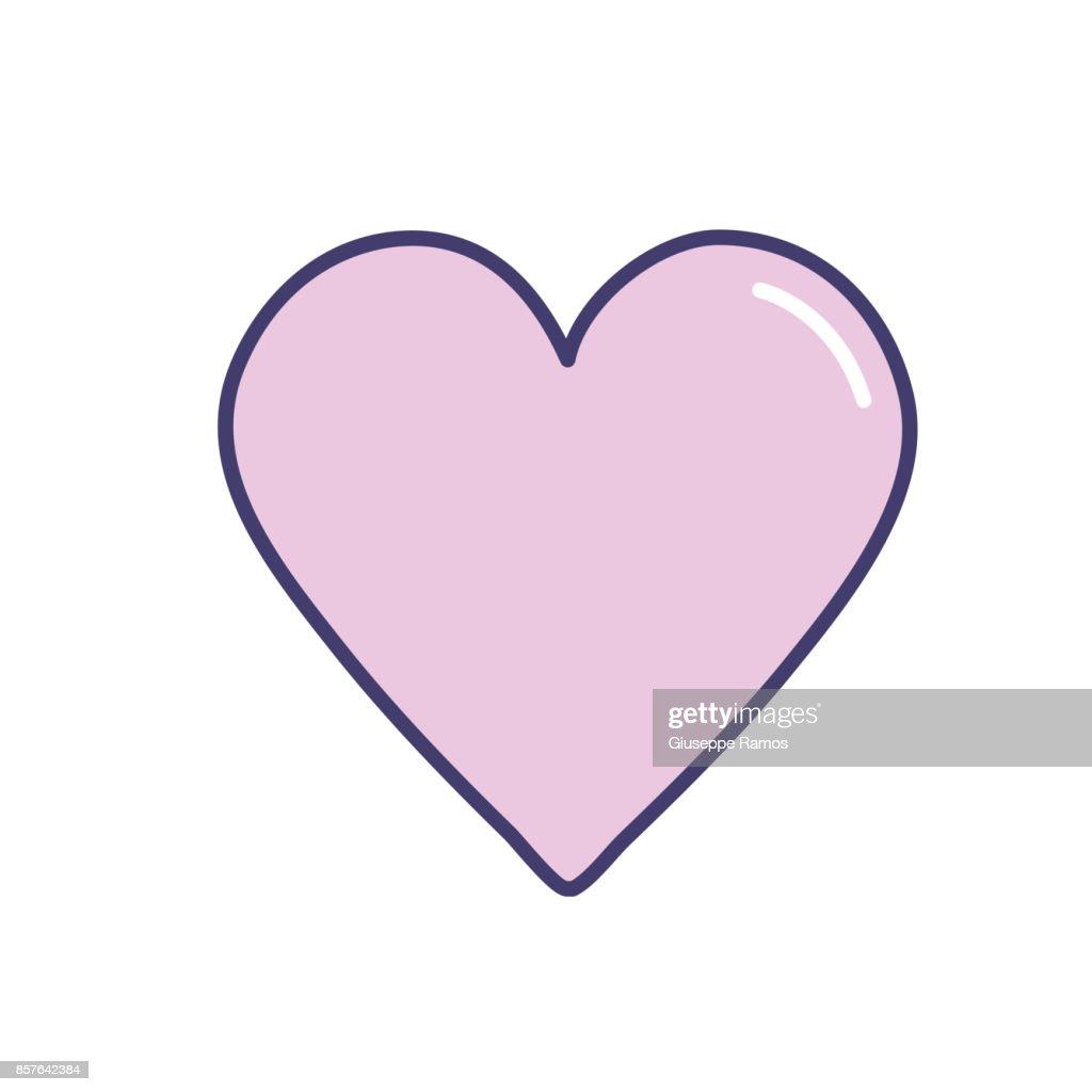 Beauty heart symbol of love and romance vector art getty images beauty heart symbol of love and romance biocorpaavc Gallery