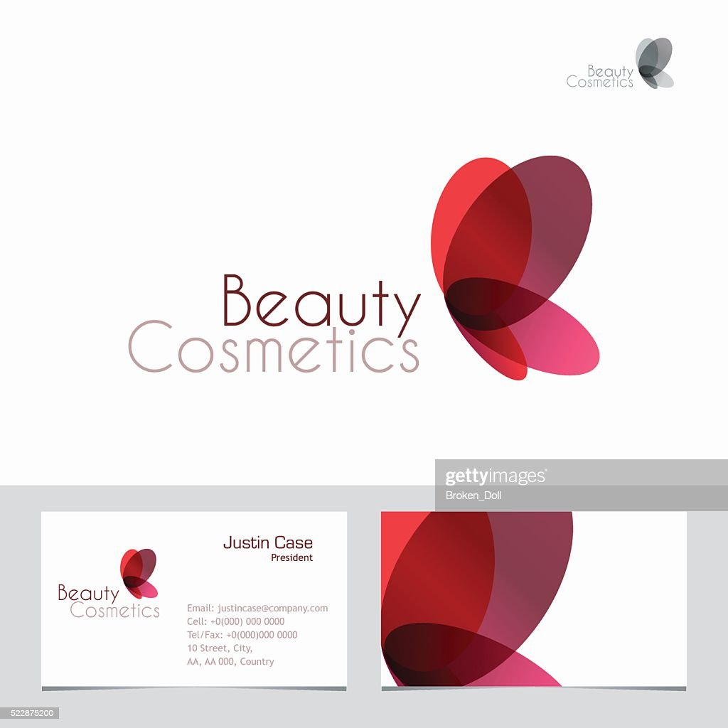 Beauty Icon & Business Card