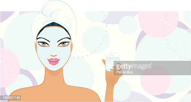 Beauty Mask Girl