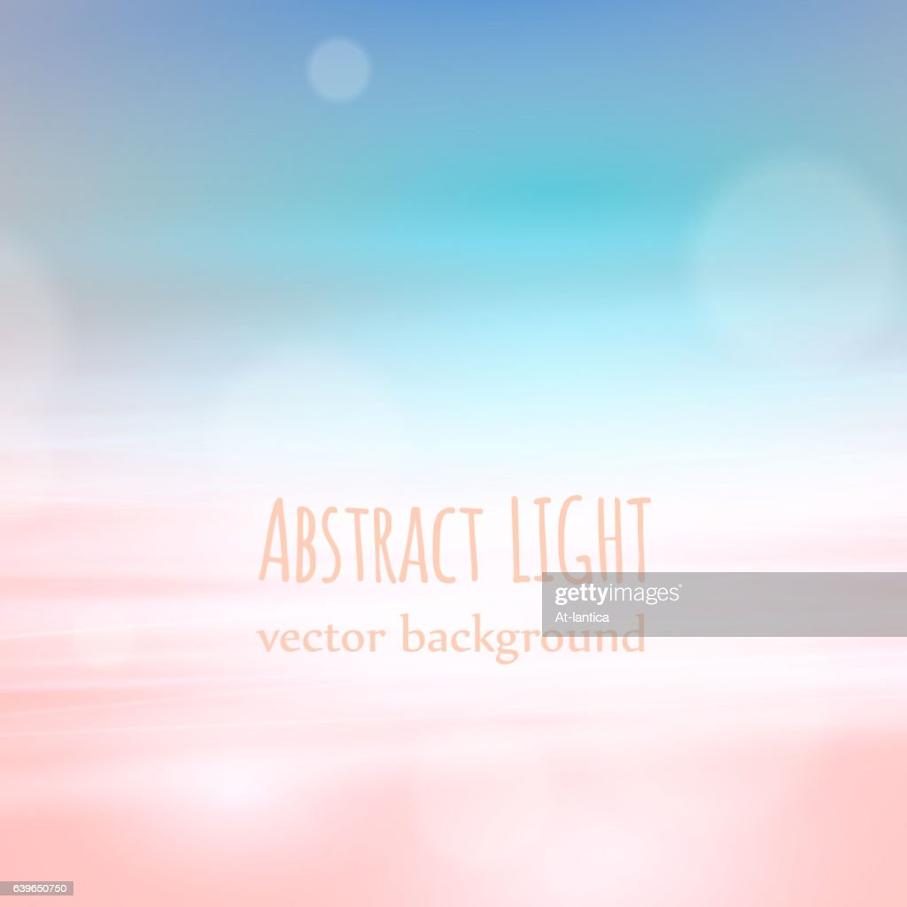 Beautyful nature abstract background with bokeh and lights