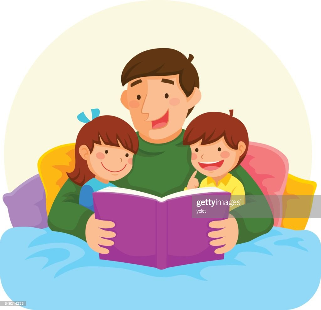 bedtime story with dad