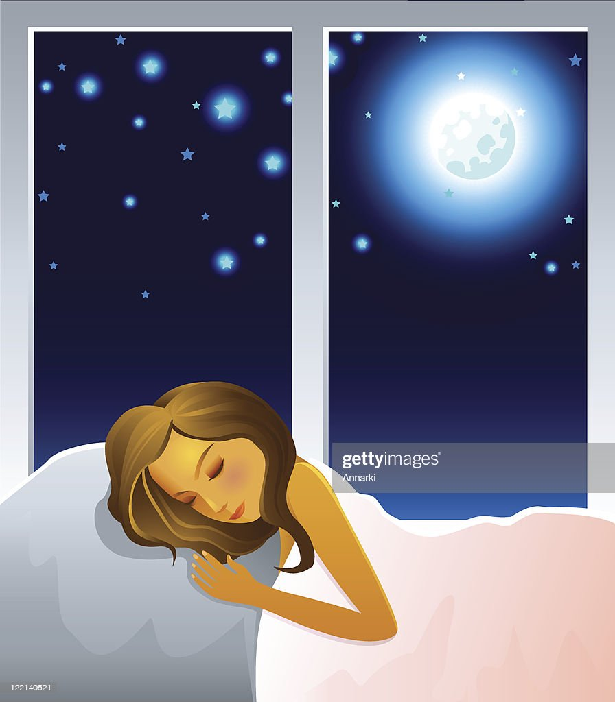 bedtime : stock illustration