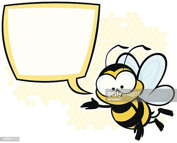 bee bubble - bumblebee stock illustrations, clip art, cartoons, & icons
