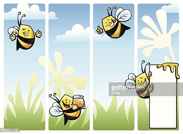 Bee Juego de caracteres