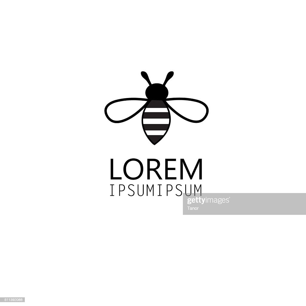 bee logo graphics