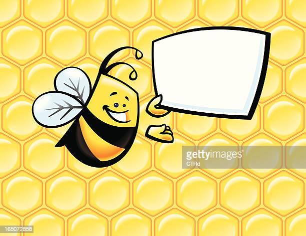 Bee con señal