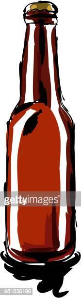 Beer Bottle Drawing