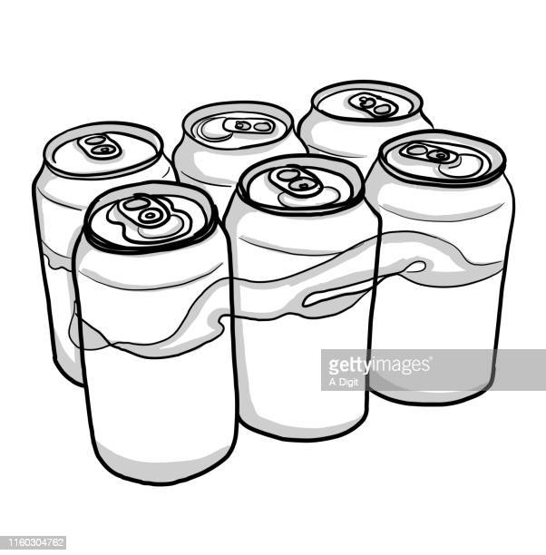 16 Six Pack Drink Drawing High Res Illustrations Getty Images