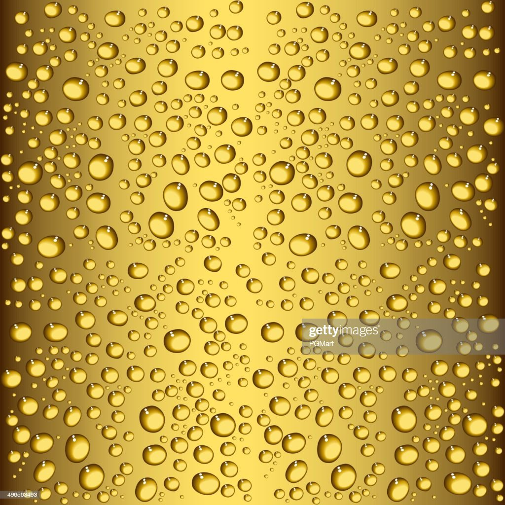 beer drops seamless texture