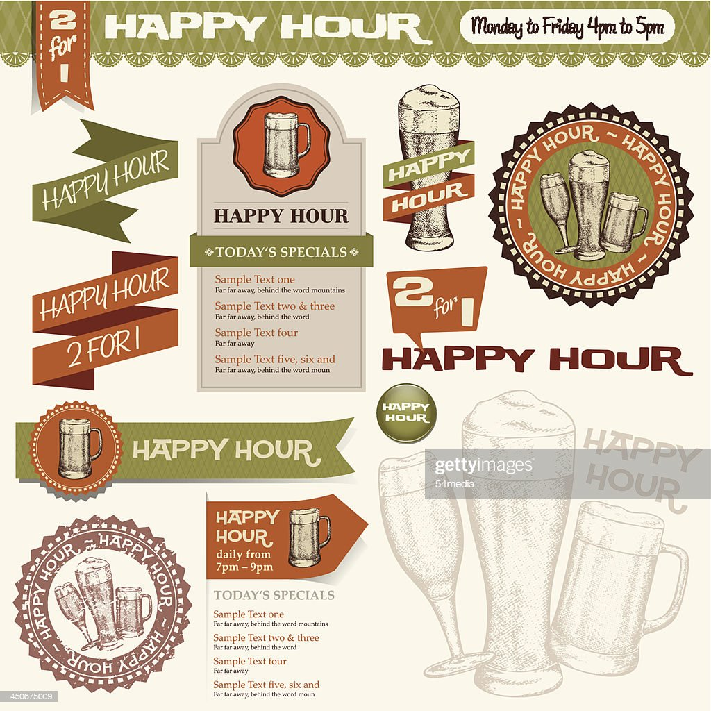 Beer Happy Hour Collection