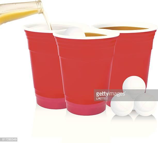 Beer Pong - Vector