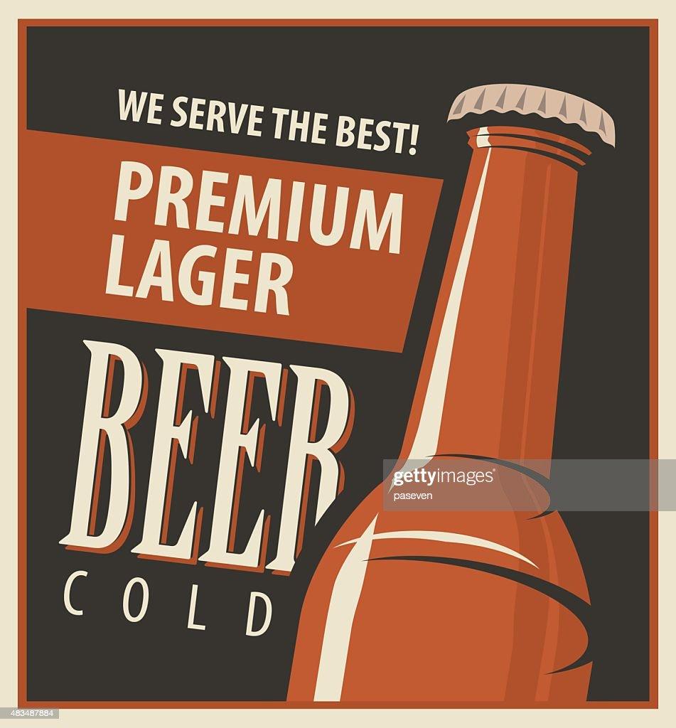 Beer retro