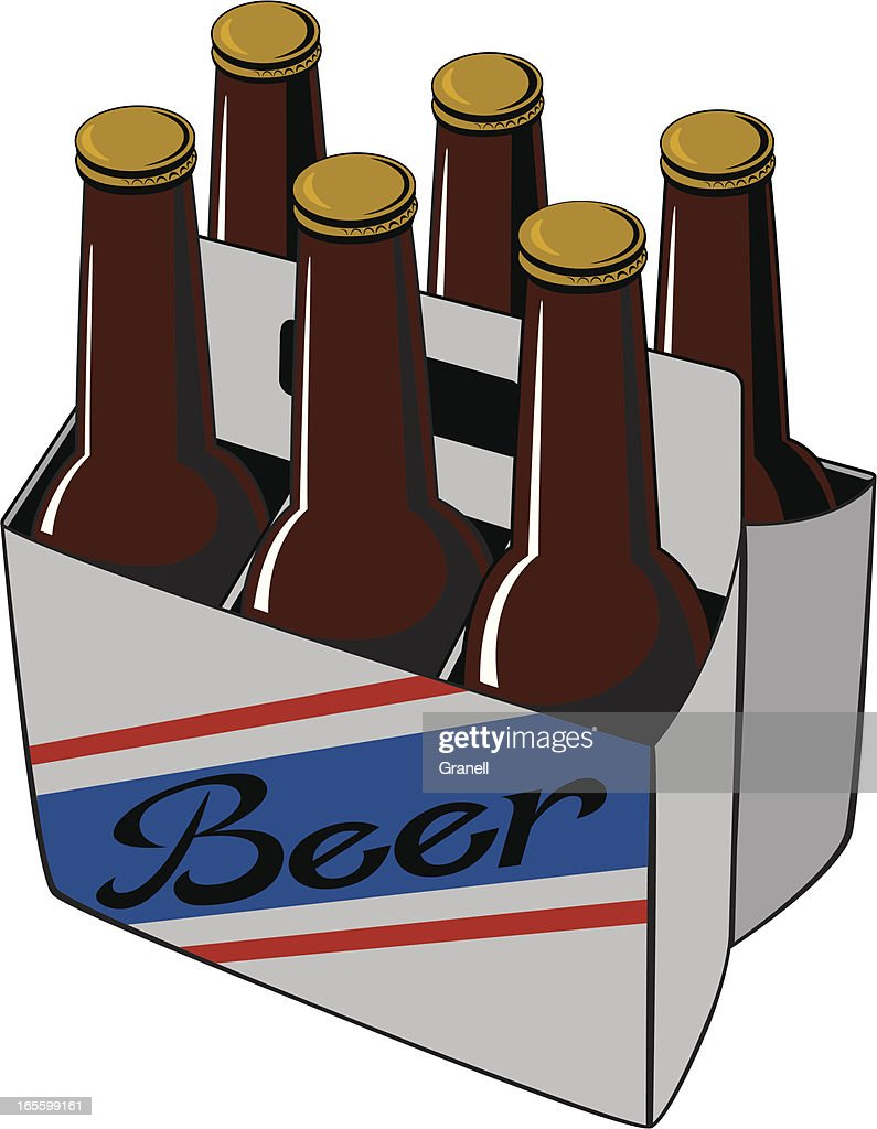 Beer Six Pack High Res Vector Graphic Getty Images