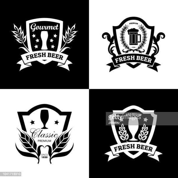 Beer Vintage Brands and Badges