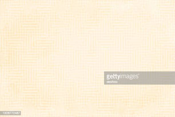 beige and white coloured textured checkered blank empty vector backgrounds with subtle maze pattern all over - beige background stock illustrations