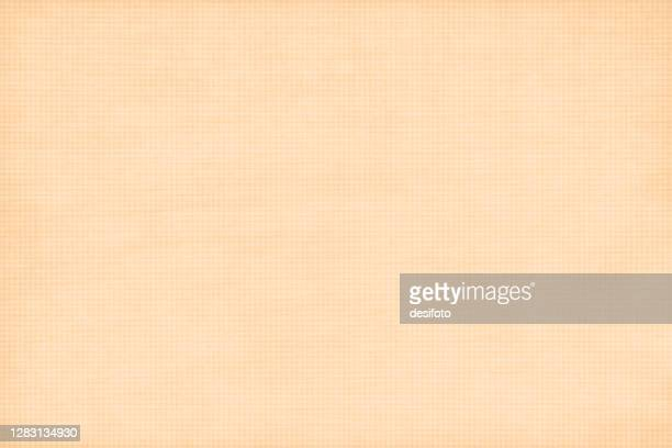 ベージュまたは明るい茶色の汚れた市松模様のグランジベクトルの背景(狭いまたは細かいチェック付き) - 荒い麻布点のイラスト素材/クリップアート素材/マンガ素材/アイコン素材
