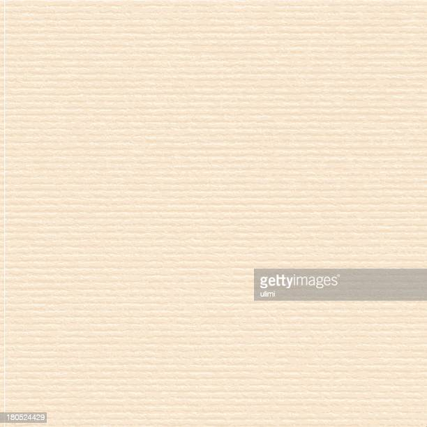Beige paper with a cream ribbed tone