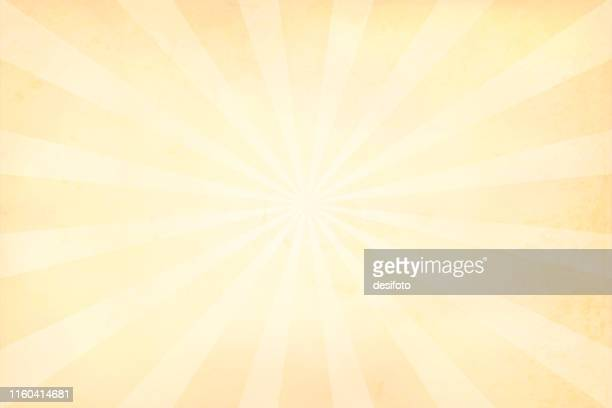 beige, very yellow sunburst - vector background - illustration - cream colored stock illustrations
