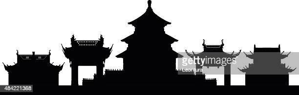 Peking (Gebäude sind beweglicher und komplett
