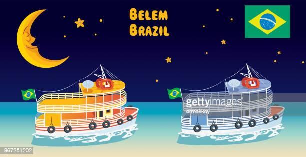 Belem, Boat Brazil