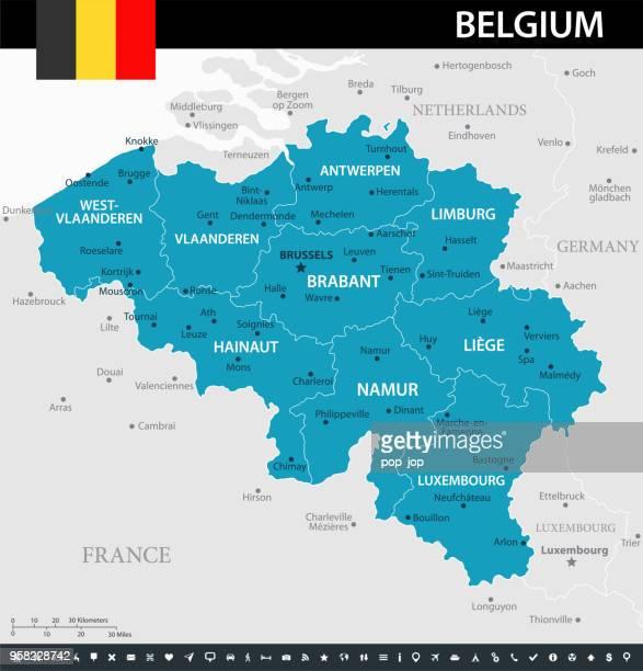 stockillustraties, clipart, cartoons en iconen met 10 - belgië - murena 10 - belgië