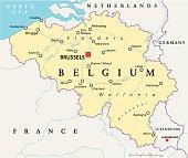 Belgium Political Map