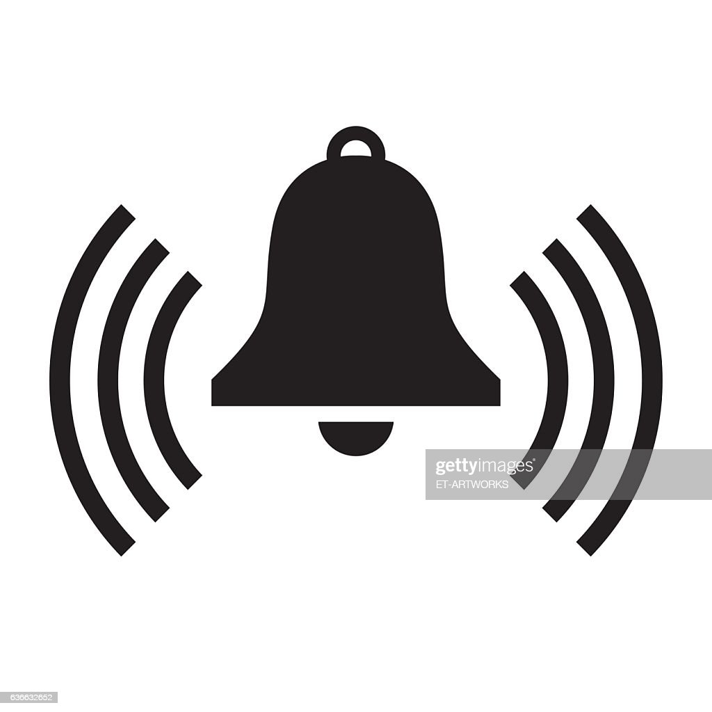 Bell Icon : stock illustration