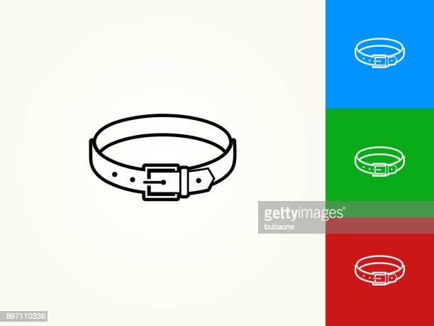 Belt Black Stroke Linear Icon