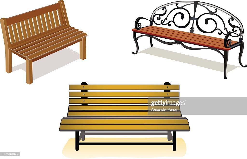 Benches set