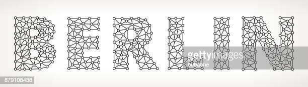 Berlin Triangular Vector Pattern
