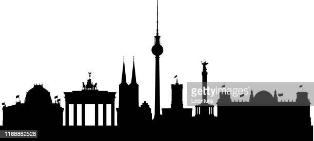 berlin - berlin stock illustrations