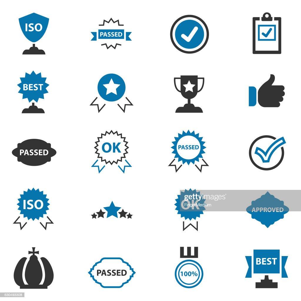 Best choice icons : stock illustration