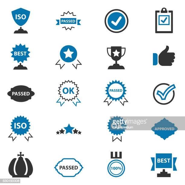 best choice icons - permission concept stock illustrations, clip art, cartoons, & icons