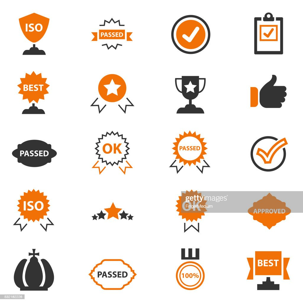 Best choice icons : stock illustration