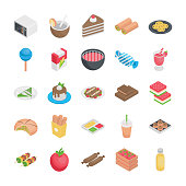 Best Food Flat Icons