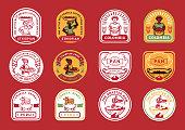 best local coffee farm badge design