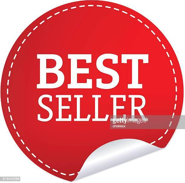 illustrations, cliparts, dessins animés et icônes de best vendeur badge - vendre