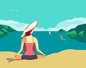 Best summer holidays relax
