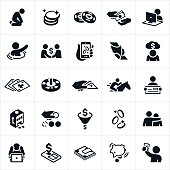 Betting and Gambling Icons