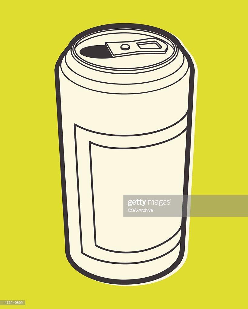 Beverage Can : stock illustration