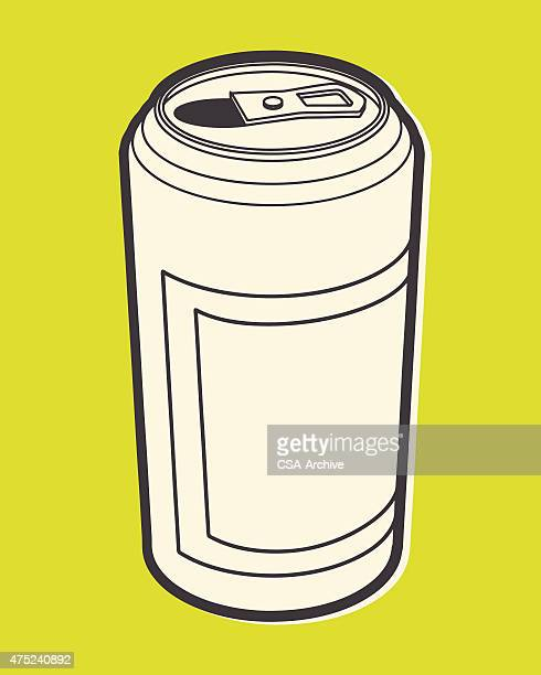 beverage can - drink can stock illustrations, clip art, cartoons, & icons