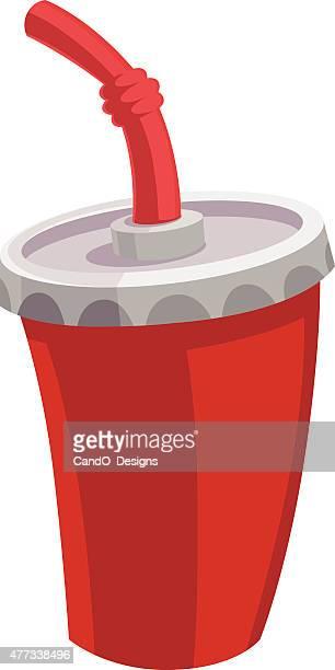 Beverage Cup Cartoon
