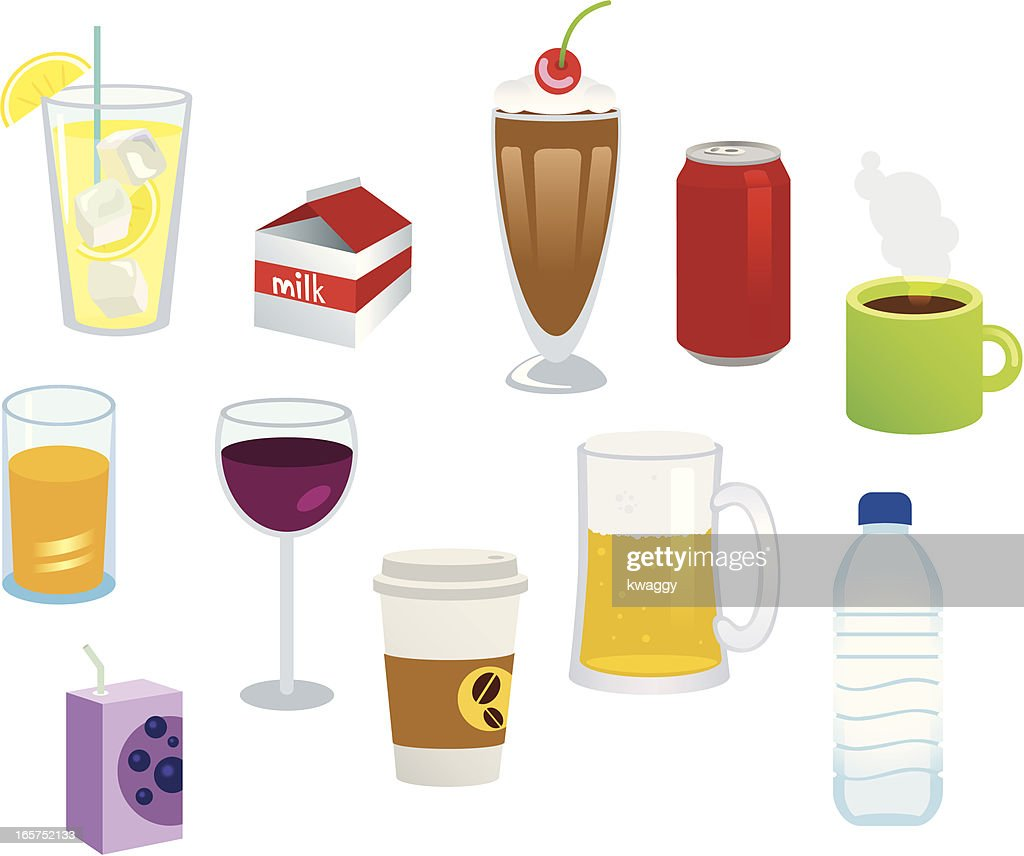 Beverages High-Res Vector Graphic - Getty Images