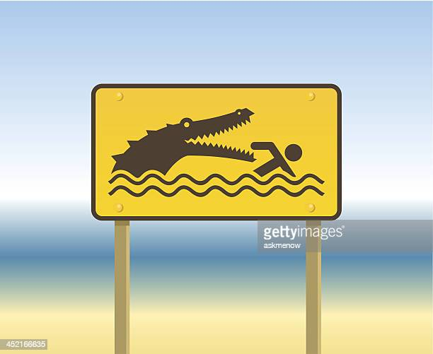 Beware of alligators!