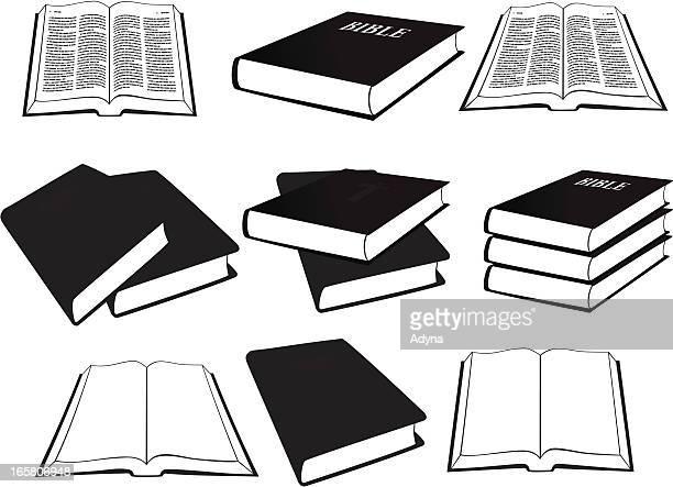 ilustrações, clipart, desenhos animados e ícones de bíblia - bíblia