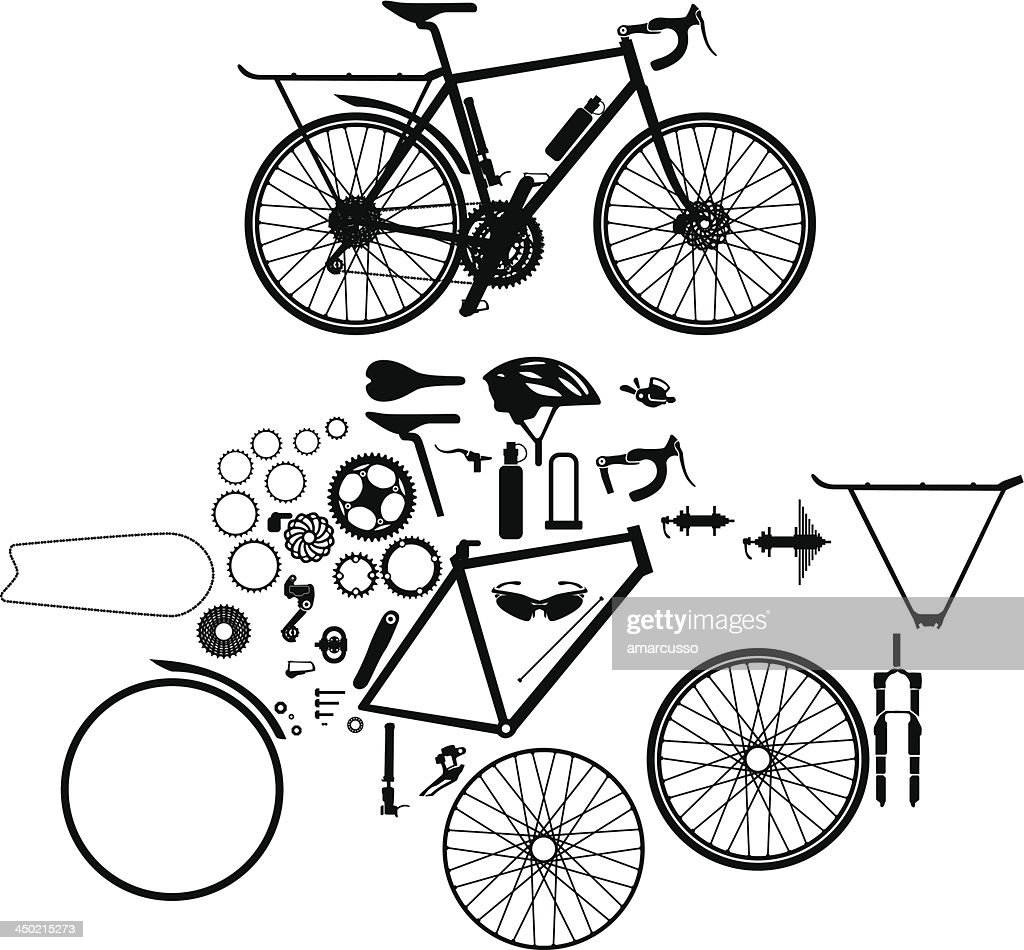 Bicycle and parts